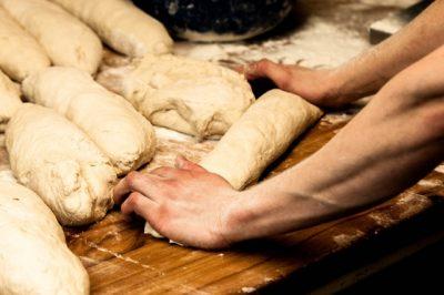 パン,作り方,発酵、自家製パン