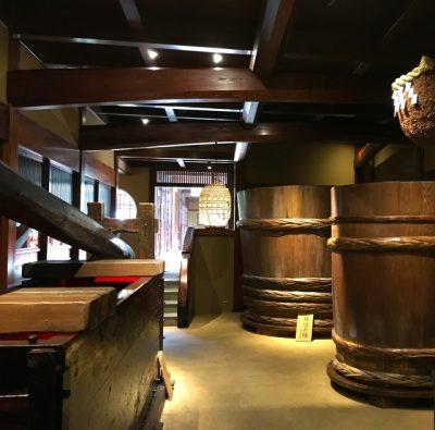 日本酒作り、木桶
