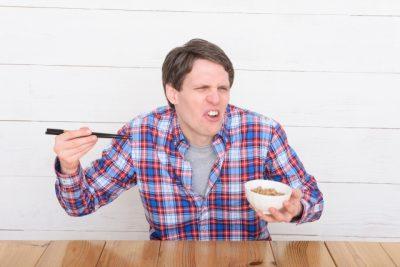 外人と納豆、発酵食品でも腐る?