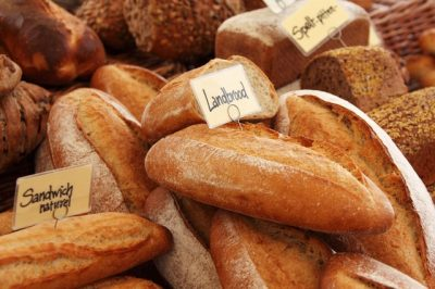 外国,西洋,発酵食品,種類、パン