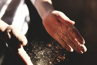 パン,作り方,発酵