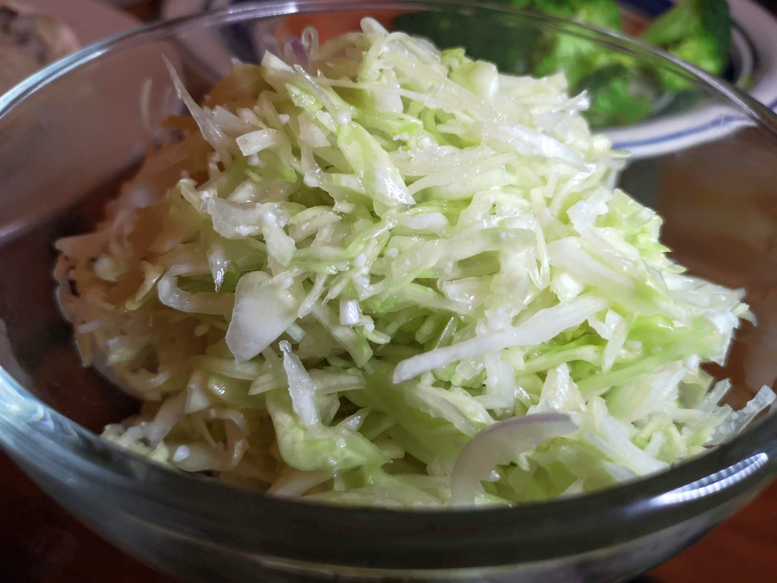 Cabbage Coleslaw Salad with Shio Koji