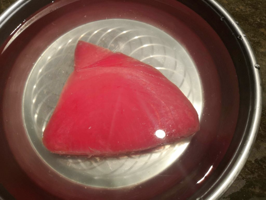 How to defrost the frozen Tuna