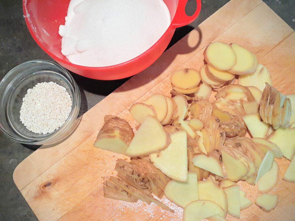 Ginger Syrup with Kome Kouji (Rice Malt)